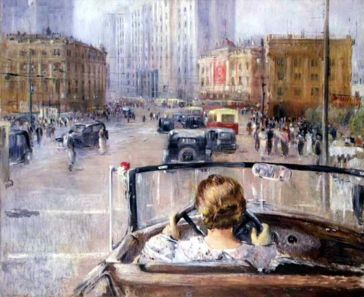 Сталинская реконструкция Москвы