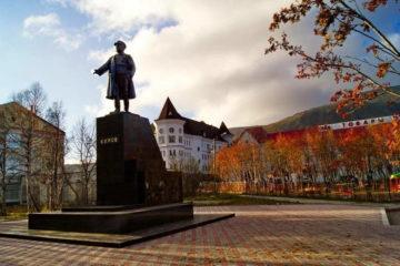 Памятник С. М. Кирову в городе Кировске Мурманской области