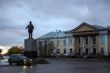 Памятник С. М. Кирову в Воркуте